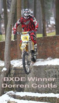 BXDE winner Dorren Coutts